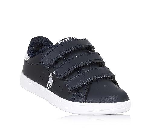 Polo Ralph Lauren - Zapatos de Cordones para niño Azul Size: 32 EU ...