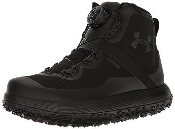 Botas con armadura para hombres Fat Tire de Gore-Tex, negro (Negro/
