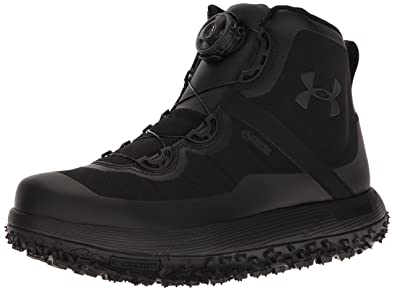 under armour fat tire boots. under armour men\u0027s fat tire gore-tex, black/black/black, 10 boots a