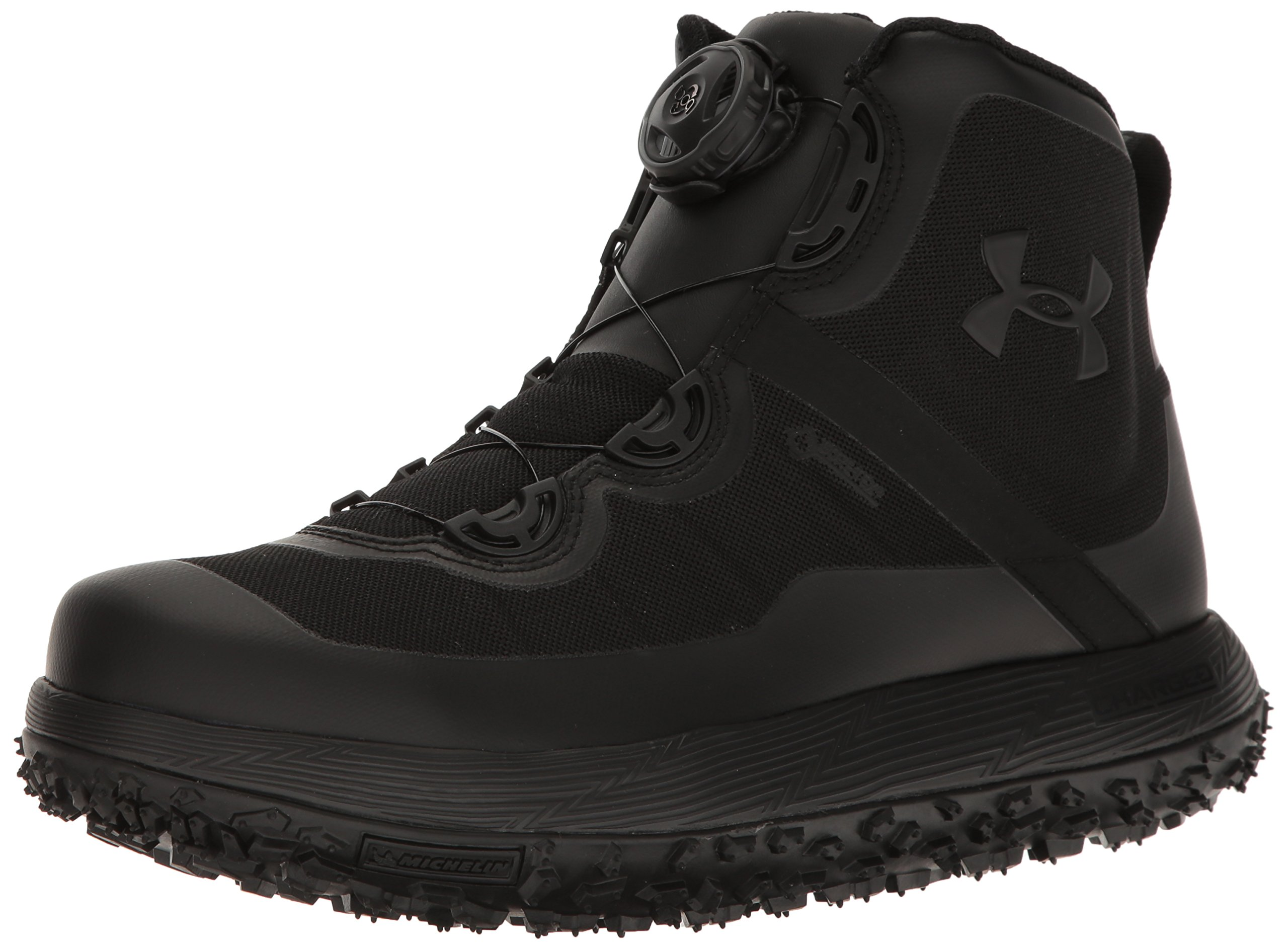 Under Armour Men's Fat Tire GORE-TEX, Black (001)/Black, 11