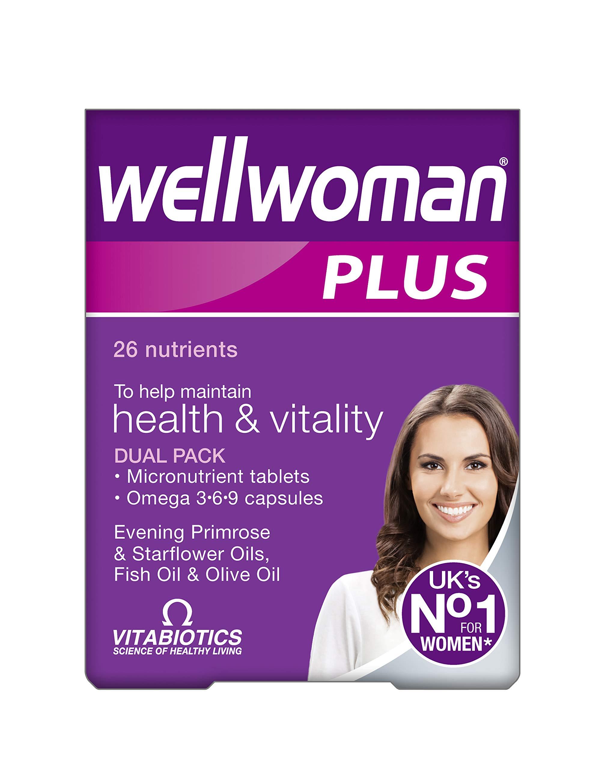 Vitabiotics Wellwoman Plus Tablets 56 Capsules