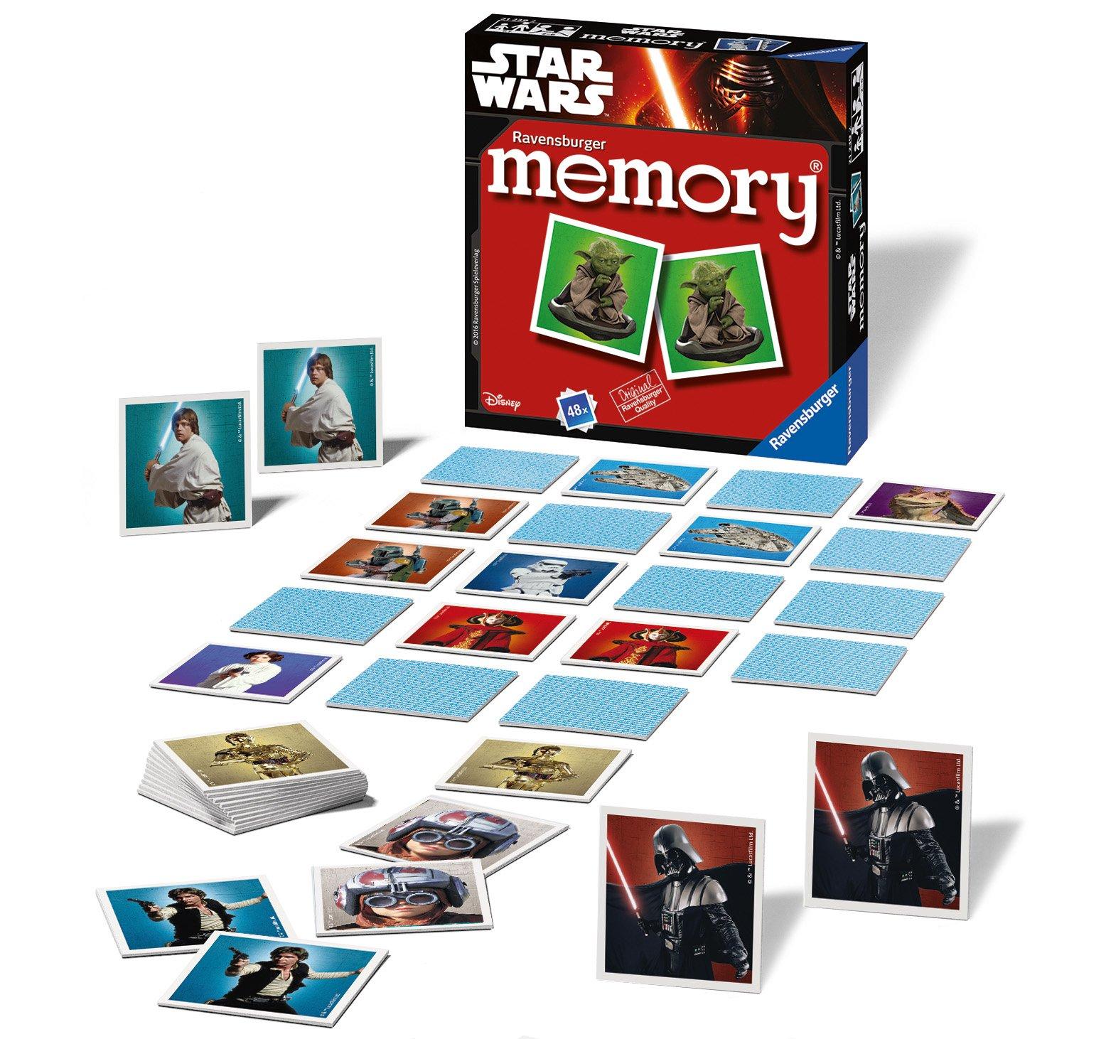 Comprar Ravensburger 21239Mini Memory clásico de Star Wars.