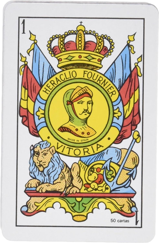 Fournier - Baraja Española, 50 Cartas, Multicolor (F20996): Amazon.es: Juguetes y juegos