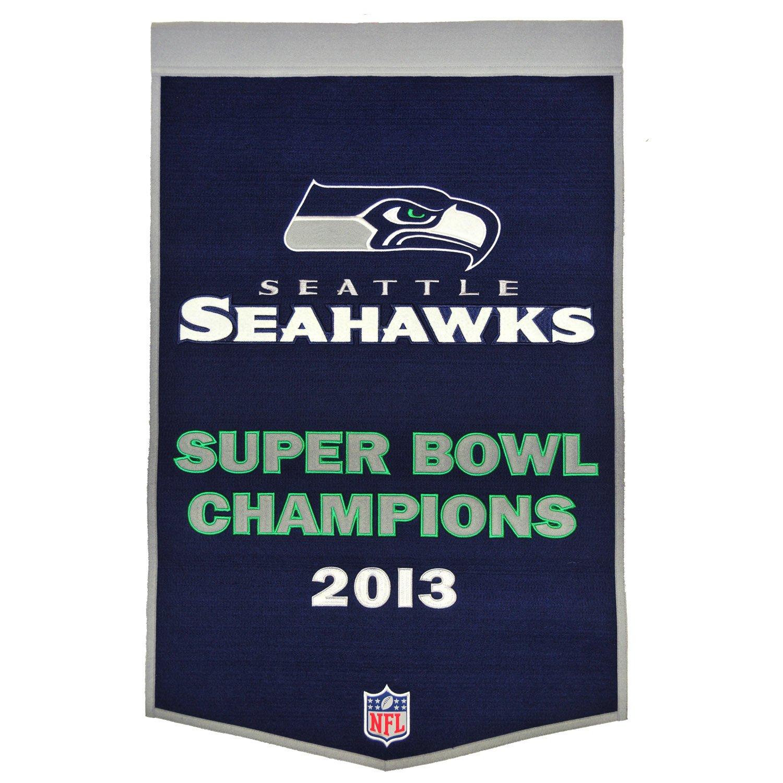 Seattle Seahawks 60cm x 90cm Wool Dynasty Banner   B00OQIKKG6, ブラボープラザ 949327ab
