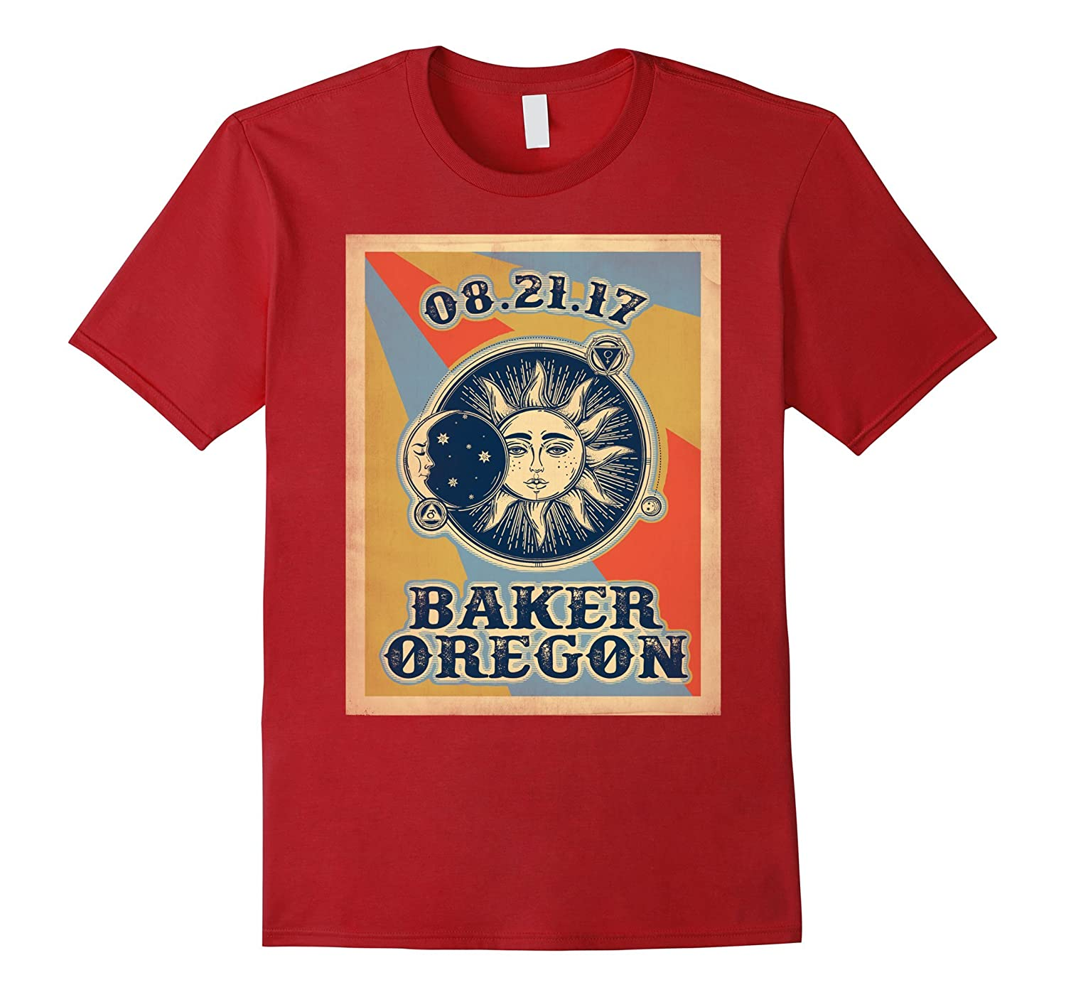 baker Oregon Solar Eclipse 2017 Shirt