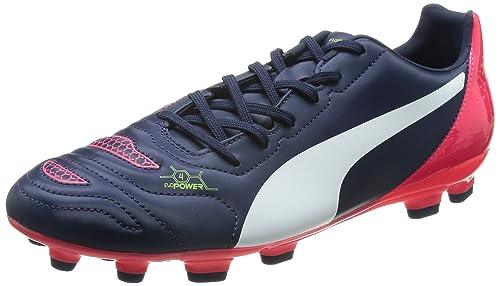 b7c4bf252 Puma Mens evoPOWER 4.2 AG Football boots (training) Blue Blau (peacoat-white