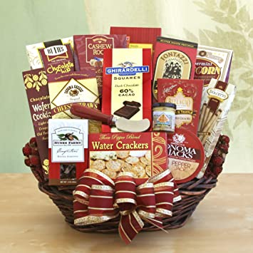 Amazon com : For the Whole Office Gourmet Gift Basket