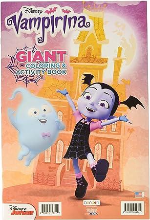 Bendon Disney Junior Vampirina Geant Coloriage Et Livre D