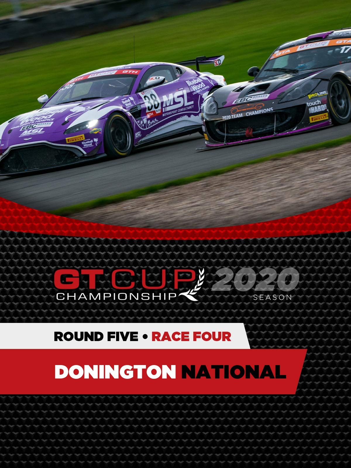 GT Cup 2020 Final Round Race FOUR Donington on Amazon Prime Video UK