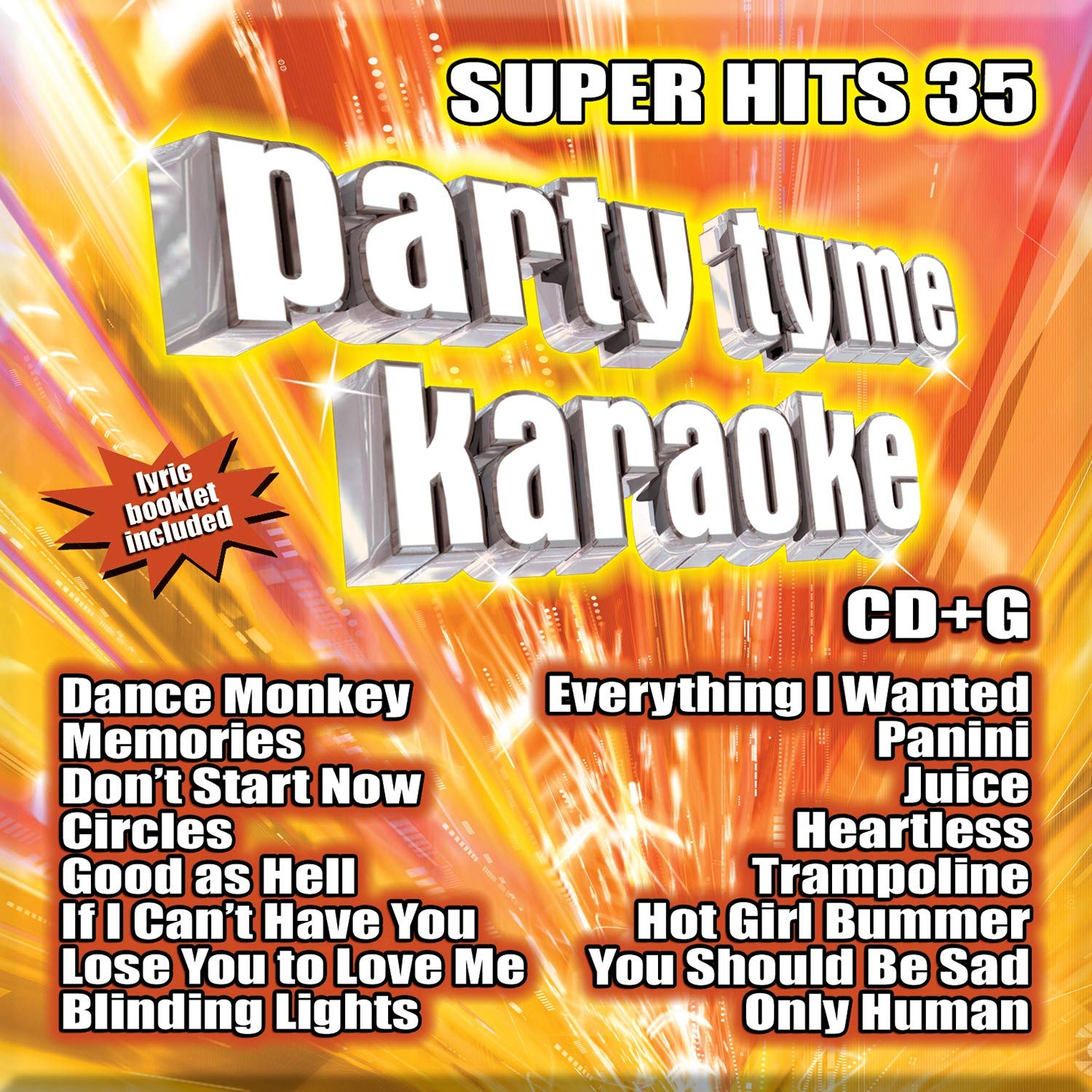 Party Tyme Karaoke Super Hits 35 Cd G Amazon Com Music The more you study with your vocal coach, the better your karaoke performances. super hits 35 cd g