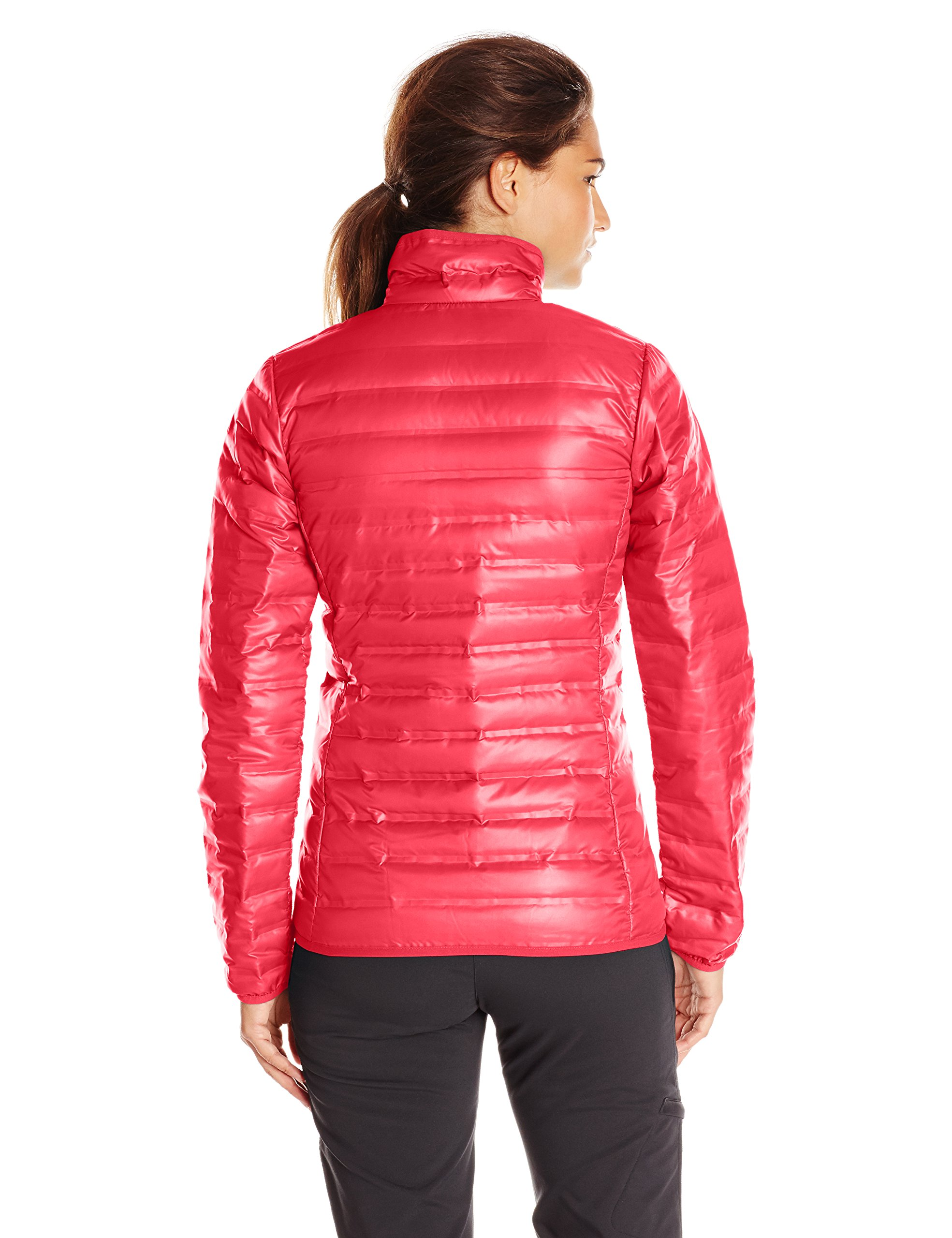 Columbia Women's Flash Forward Down Jacket, Red Camellia/Spray, Small by Columbia (Image #2)