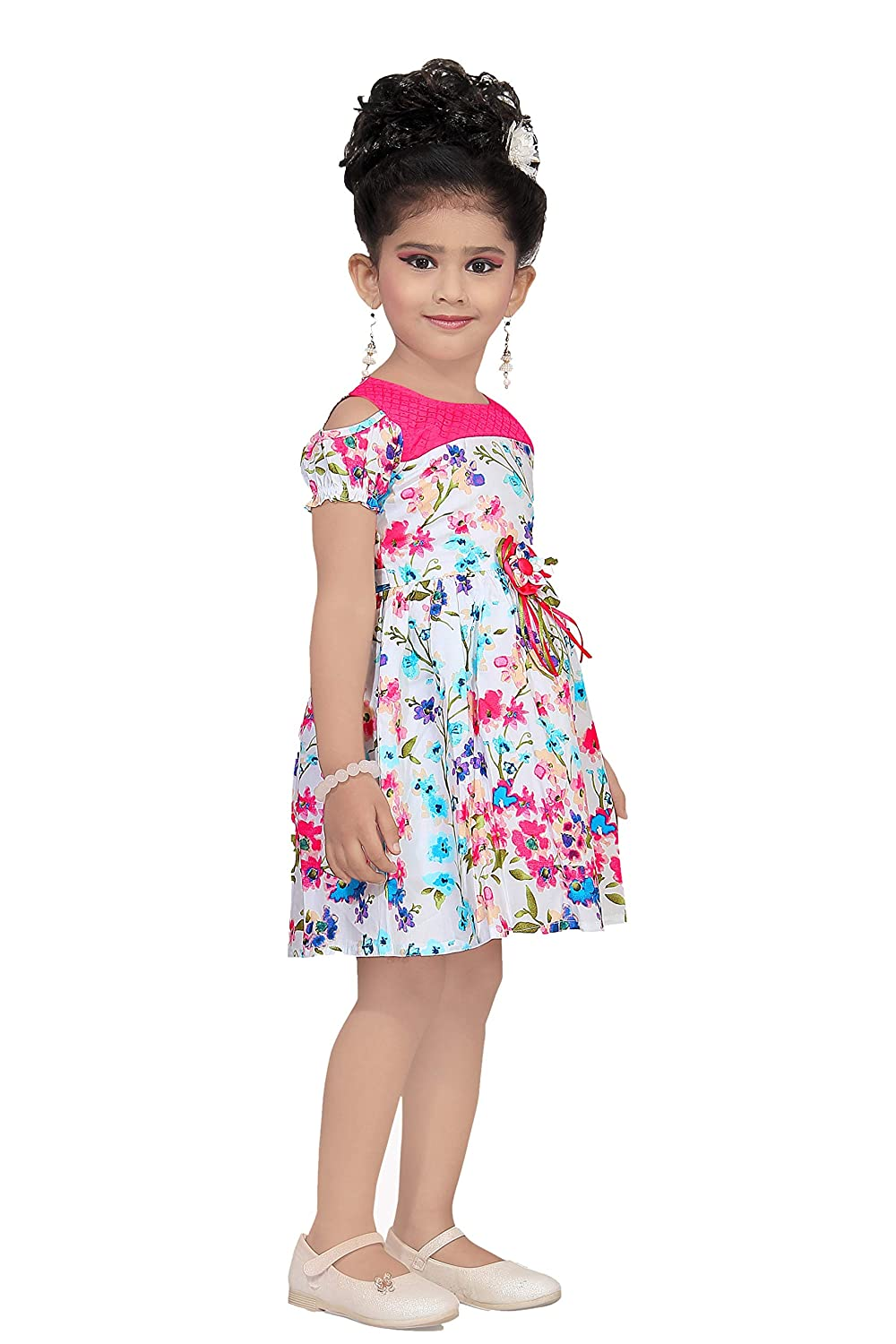 Nice baby girls party wear frock dress amazon in clothing accessories