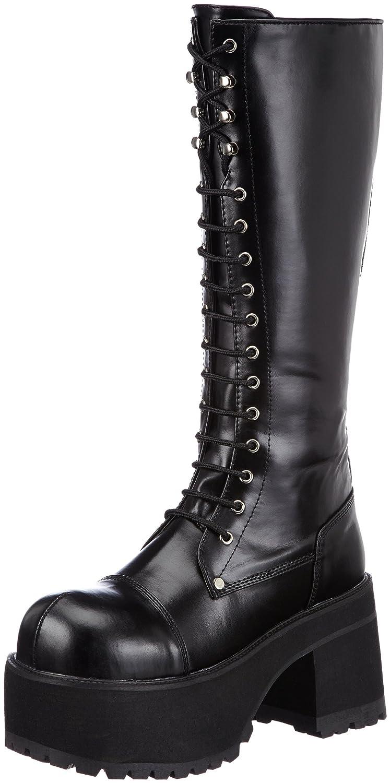 Pleaser Men's Ranger 302 Lace-Up Boot B00E8E0T00 10 D(M) US|Black Pu
