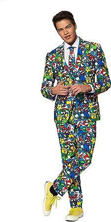 Generique - Disfraz Mr. Super Mario Adulto Opposuits M (EU 50 ...