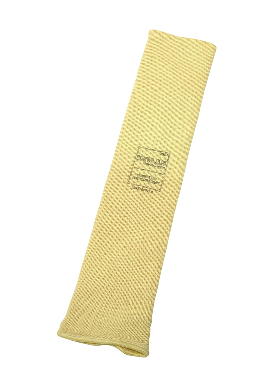 "Honeywell KVS-2-14TH-3BT Kevlar Arm Protection Sleeve, Thumbhole, 3 Bar-Tack for Fingers, 14"" (Pack of 100)"