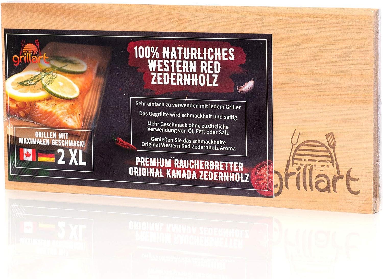 8 x Axtschlag Wooden BBQ Planks Zedernholz Zedern 30 x 11 cm Räucherbrett