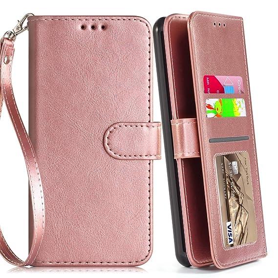 LG Aristo 2 Case, Aristo 3/Rebel 4 LTE/Aristo 2 Plus/Phoenix 4/Zone  4/Tribute Dynasty/Fortune 2/Risio 3/K8+2018 Plus Phone Case Wallet with  Screen