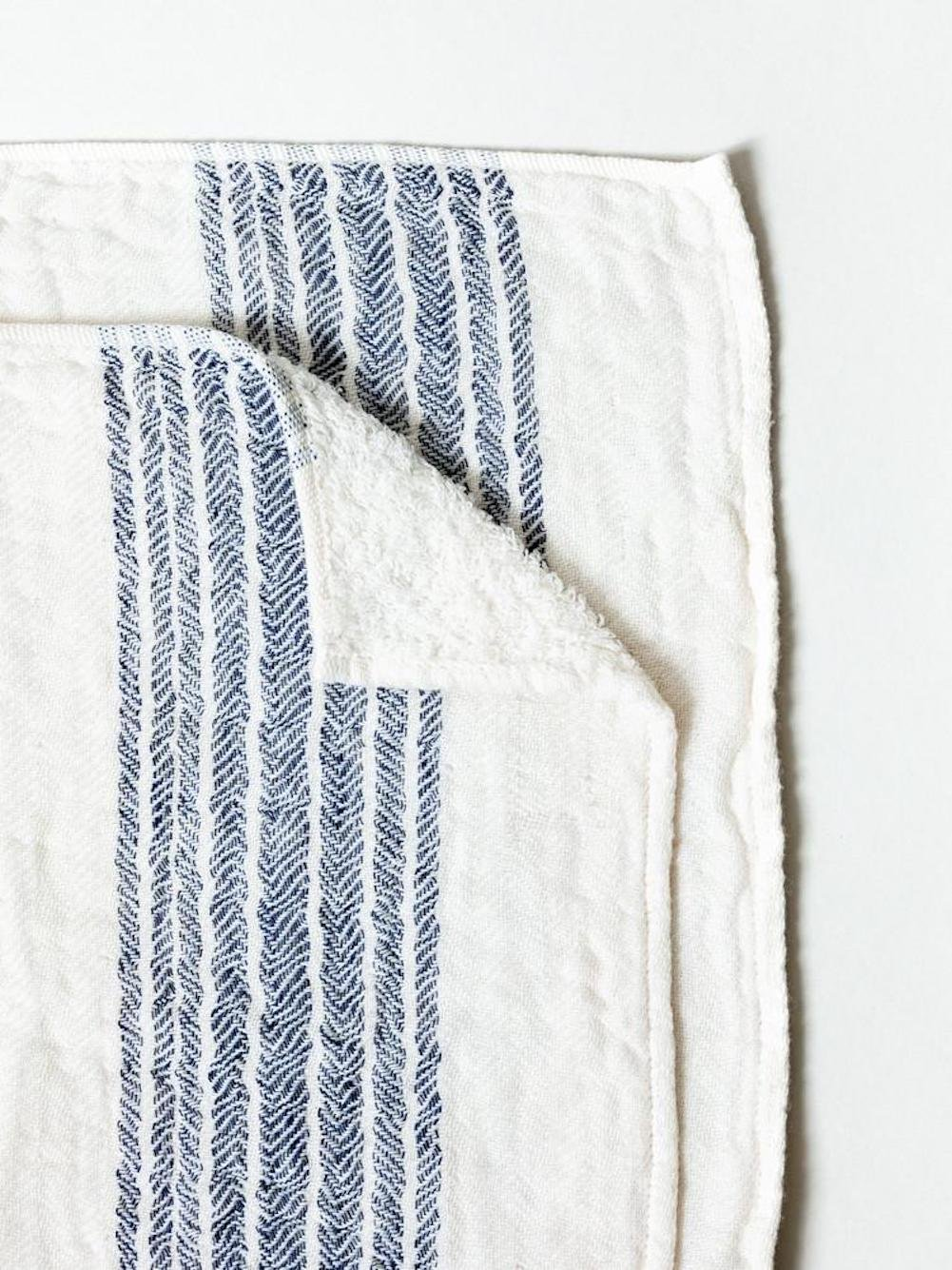 Kontex Organic Cotton Towels From Imabari, Japan - Navy (Set of 3 Towels) by Kontex (Image #2)