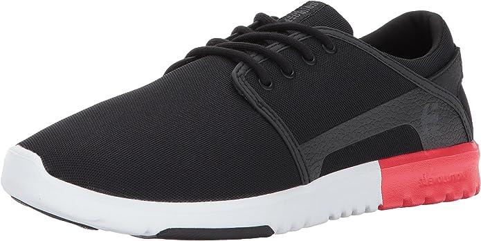 Etnies Scout Sneakers Herren Schwarz Rot Weiß
