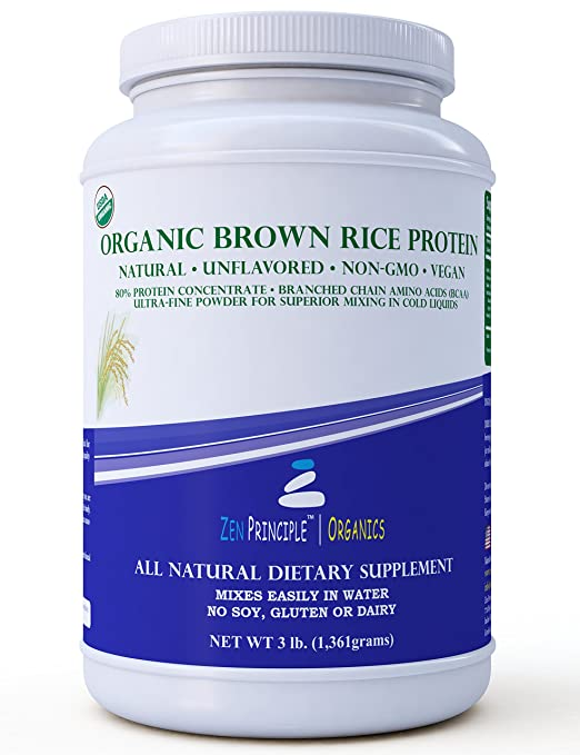 Zen Principle: Organic Brown Rice Protein