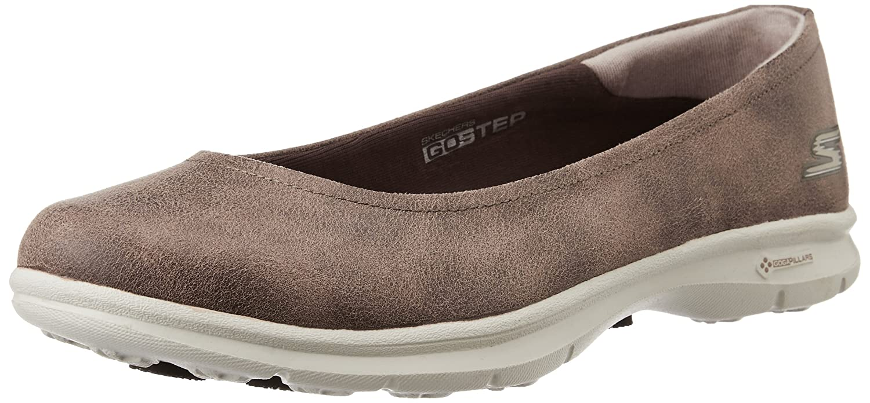 Rendimiento Skechers para mujer Ir Reto Paso Caminar zapato 7.5 B(M) US|Ante Marrn