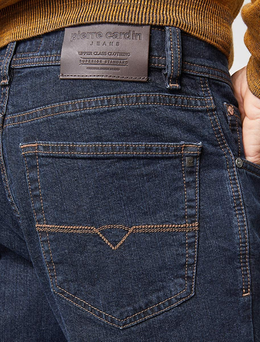 Pierre Cardin Dijon Herren Herren Herren Jeans Hosen Dark Denim 0323100161-02 B07NL89DP8 Jeanshosen Am wirtschaftlichsten ac40d6