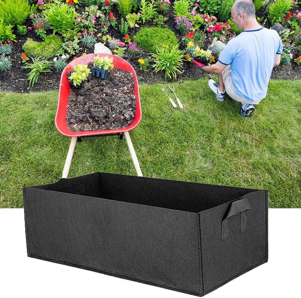 Surenhap Rectangle Sacs de Plantes Non tiss/é Respirant Pot de Tissu Sac de Culture