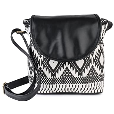 Lychee Bags Women's Sling Bag (Black,Lb14Atb.): Amazon.in ...