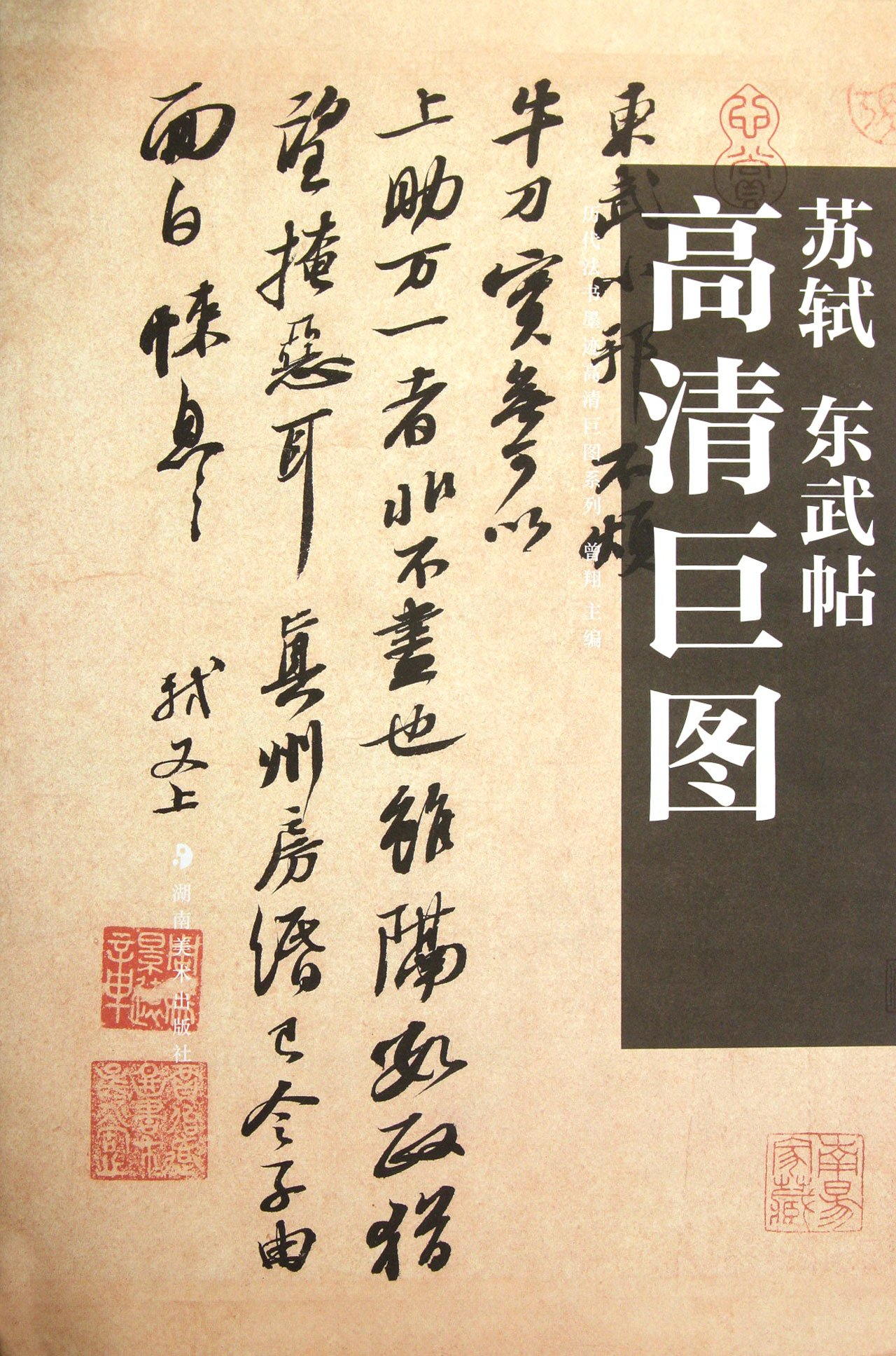 HD Giant Map Series of Model Calligraphy of the Past Dynasties - Tobu by Su Shi (Chinese Edition) pdf epub
