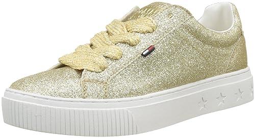 Tommy Jeans Glitter Sneaker, Zapatillas para Mujer: Amazon.es: Zapatos y complementos