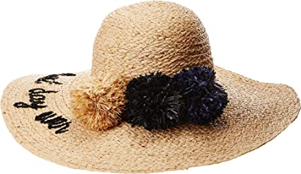 369095222bd Hat Attack Women s What s Your Motto Sun Hat Best Day Ever One Size at  Amazon Women s Clothing store