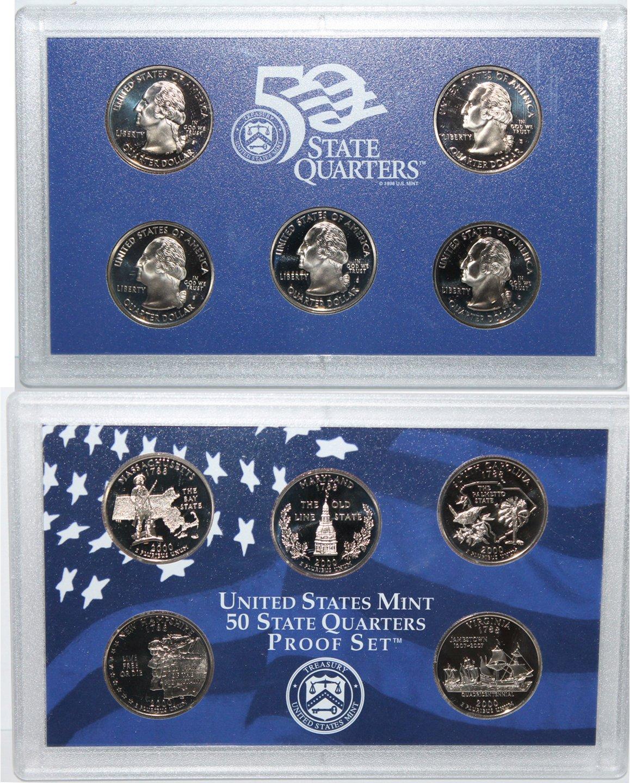2000 S 2000 Proof quarter set Original Mint Packaging