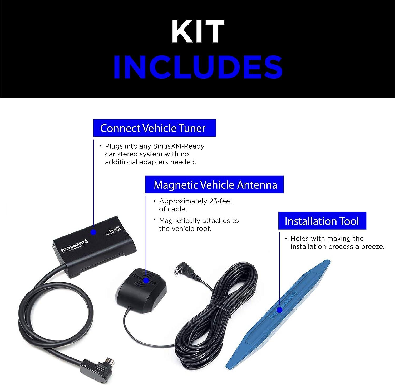 Sirius XM Connect Vehicle Tuner Kit Satellite Radio Car Audio System Channels