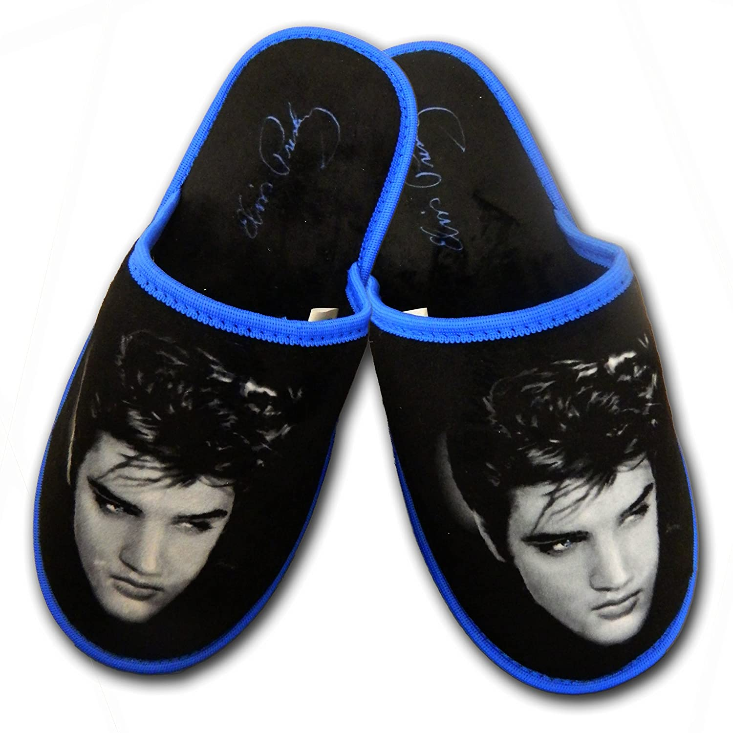 e76376422c2a1 Midsouth Products Elvis Presley Slippers - Up Close