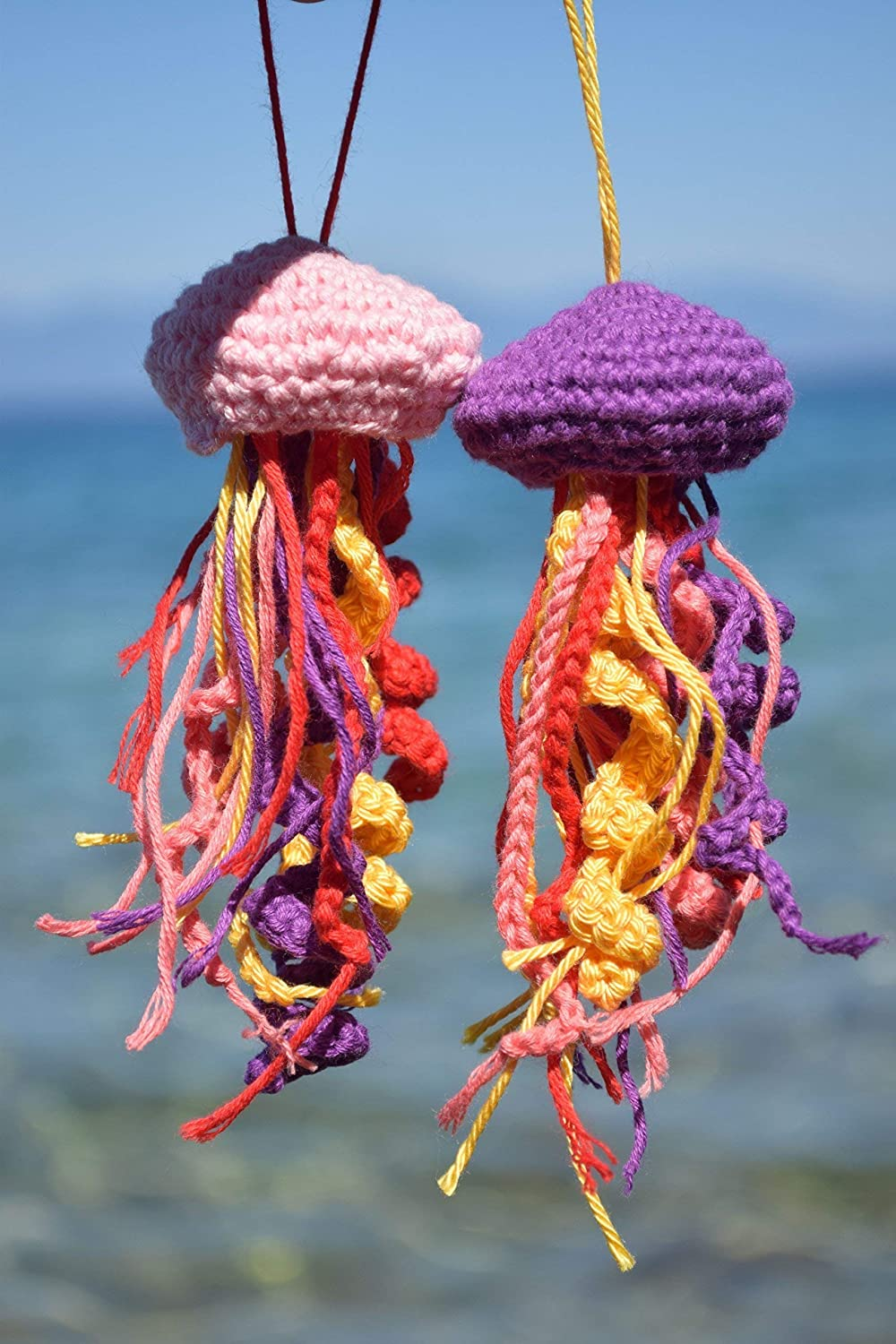 Happy jellyfish amigurumi pattern | Crochet patterns amigurumi ... | 1500x1000