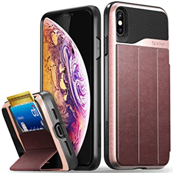 coque iphone xs rouge cuir