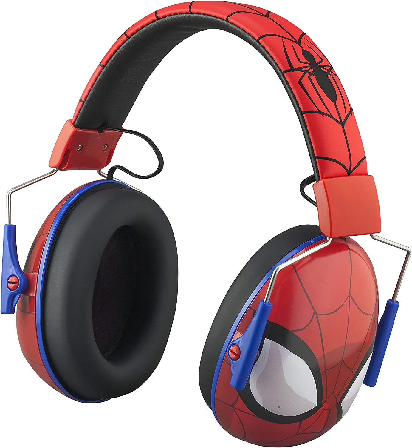 Amazon.com: Spiderman Kids Ear Protectors Earmuffs Toddler Ear Protection  and Headphones 2 in 1 Noise Reduction and Headphones for Kids Ultra  Lightweight Adjustable Safe Sound Great for Concerts, Shows, and More:  Electronics