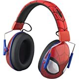 Spiderman Kids Ear Protectors Earmuffs Toddler Ear Protection and Headphones 2 in 1 Noise Reduction and Headphones for…