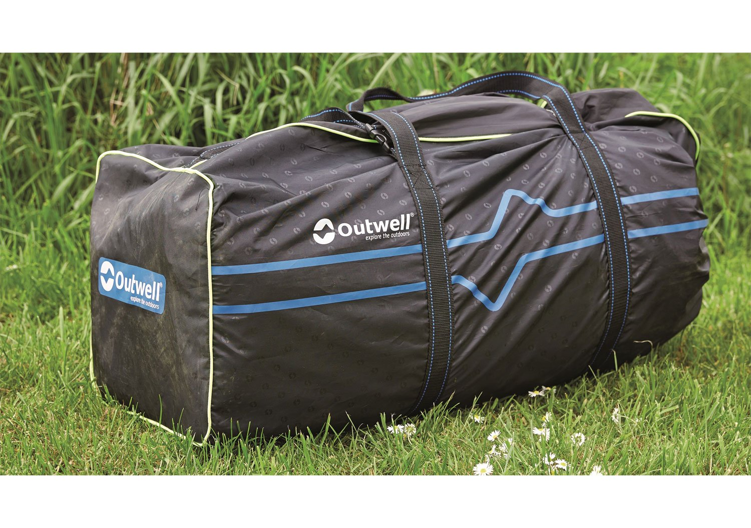 /Blue//Grey 410/x 280/x 215/cm Outwell Woodville 4/Tent/