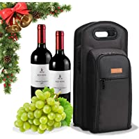 ALLCAMP Wine Cooler Bag with Cooler Compartment,Two Sets of Tableware