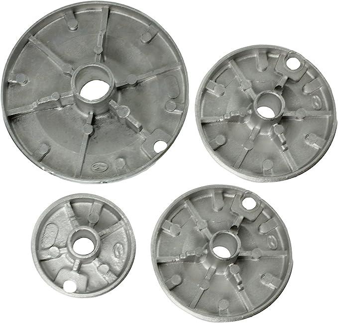 Spares2go grabadora de Gas dise/ño de corona de fuego tapa para Ikea para horno de cocina tama/ño peque/ño, 2 medio y tama/ño grande