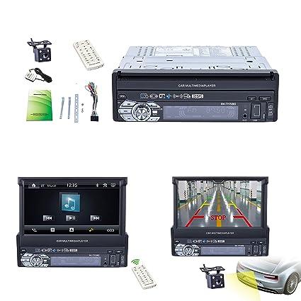 Reakosound 1 Din 7 pulgadas 1080P Radio de Coche con Pantalla ...