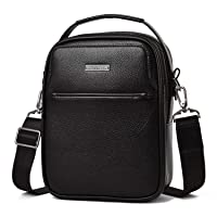 Deals on IHayner Mens Genuine Leather Messenger Bag