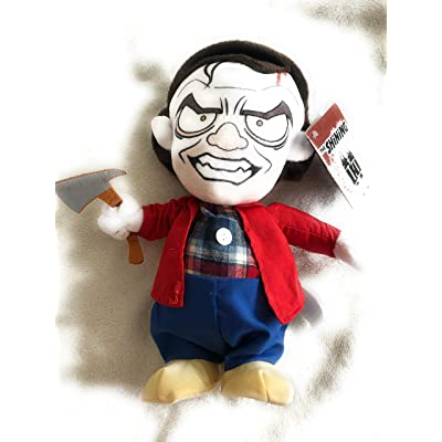"Magic Power Ltd. The Shining Jack Torrance Moving Talking Doll Halloween Prop 12"": Toys & Games"