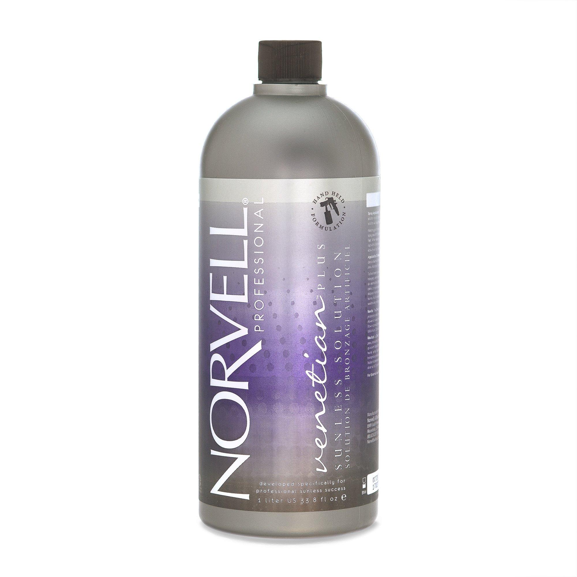 Norvell Premium Sunless Tanning Solution - Venetian Plus, 1 Liter by Norvell