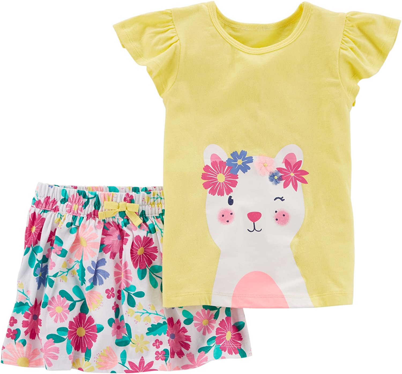 Carter's Girls' 3-Piece Outfit Carter' s P000497863
