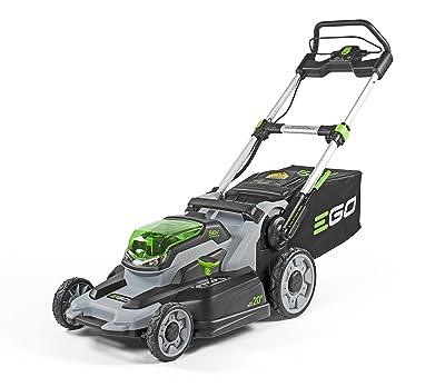 EGO Power+ LM2000-S 20-Inch 56-Volt Lithium-Ion Cordless Walk Behind Lawn Mower