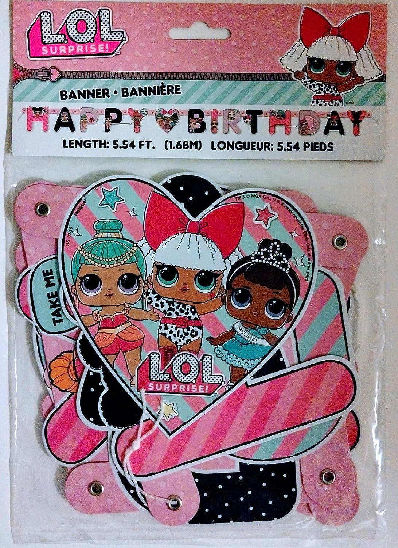 Unique Guirnalda LOL Surprise Happy Birthday