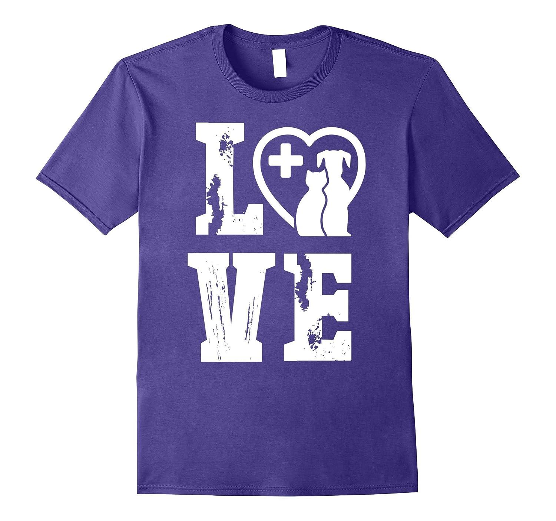 Love Veterinarian T-Shirt Veterinarian Spirit And Pride-Art