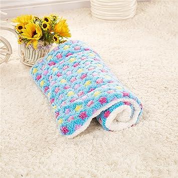 weare Home azul perro gato Cojín perros Dormir Espacio Gato dormir con espacio de patrones de